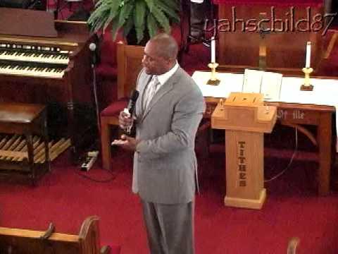 Pastor Tony Smith at West Trinity Baptist Church