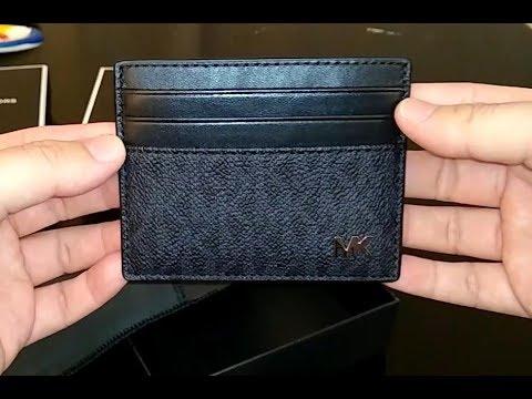 Michael Kors Men's Jet Set Card Case, wallet (minimalist)