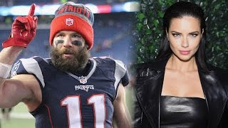 model adriana lima and new england patriot julian edelman call it quits