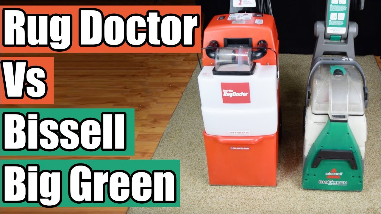Rug Doctor Vs Bis Green Deep
