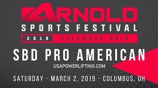 SBD Pro American - USA Powerlifting at 2019 Arnold Sports Festival