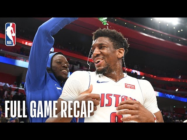 BULLS vs PISTONS | Langston Galloway's 3-Point Barrage Propels Pistons | March 10, 2019