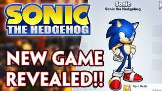 BRAND NEW EXCLUSIVE SONIC & SEGA GAME REVEALED!!!! #SEGAHeroes #SonictheHedgehog #SonicManiaPlus