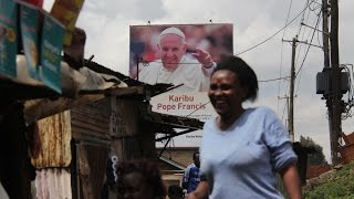 Intercede for us, Kangemi residents tell Pope Francis