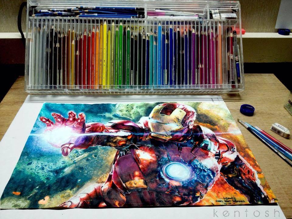 Los dibujos m s impresionantes del mundo a color youtube - Colores del mundo de bruguer ...