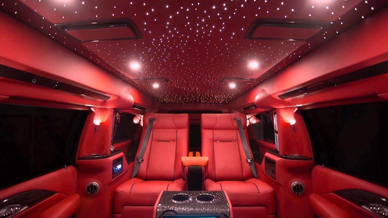 The Inside Of An Escalade Lexani Motorcars Luxury Suv