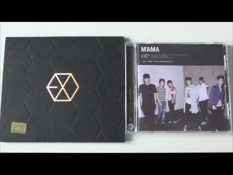 Unboxing EXO-M 1st Mini Album MAMA (Korea & China Edition)