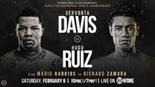 Dwyer 2-8-19 Gervonta Davis v. Hugo Ruiz #gamblersadvisory