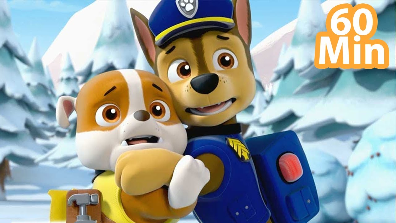 Paw Patrol The Movie - Mighty Pups On A Roll Rescue Mission Marathon Episodes