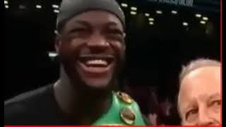 Deontay Wilder vs Dominic Breazeale - Post Fight/Interview (Ortiz Calls Out Wilder For Rematch)