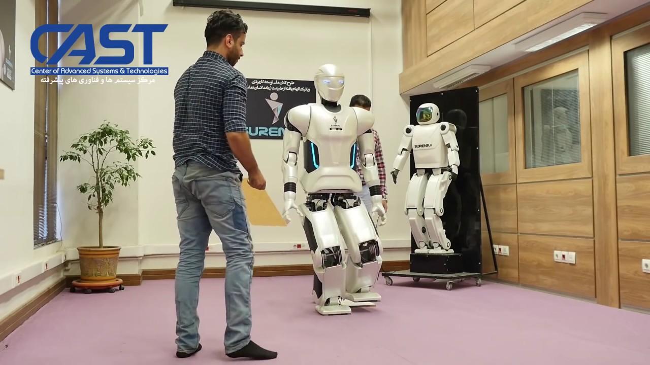 Iran Demonstrates Humanoid Robot Surena III