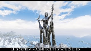 Skyrim SE Mods: LH's Skyrim Magnificent Statues UHD