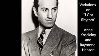 "George Gershwin: Variations on ""I Got Rhythm."""