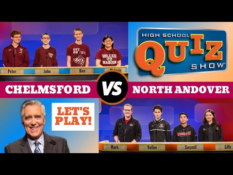 High School Quiz Show - Chelmsford vs. North Andover (806)