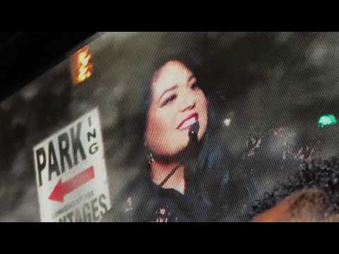 Ceremony Selena Quintanilla Star Hollywood Walk of fame
