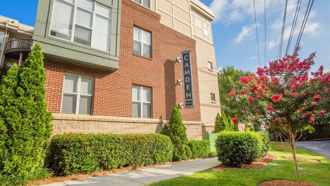 Apartments In Charlotte North Carolina Tour Camden Dilworth