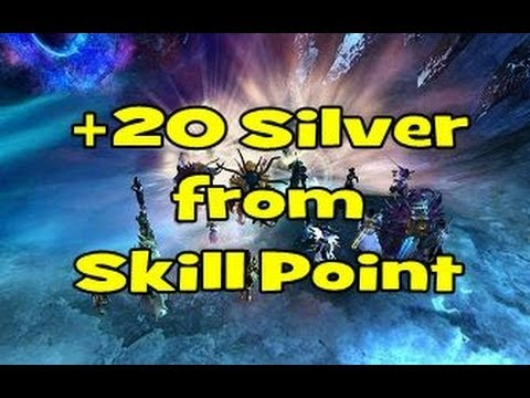 Guild Wars 2 Skill Points To Gold Guide