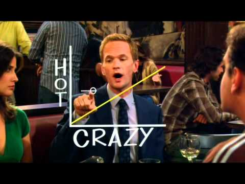How I Met Your Mother - Barneys Crazy-Hot-Skala [German / Deutsch]