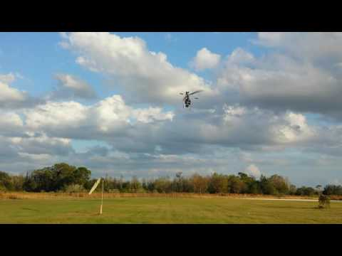 Eyal Plotnik fly T-REX 450 at Bay city Flyers Saturday December 17th 2016