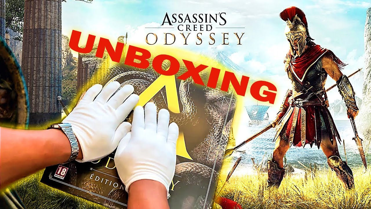 Assassin's Creed Odyssey - All Boxes Edition Unboxing !