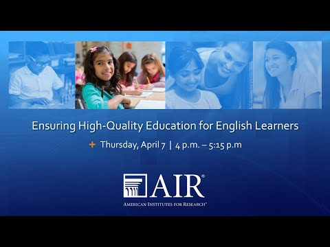 Ensuring High-Quality Education for English Learners