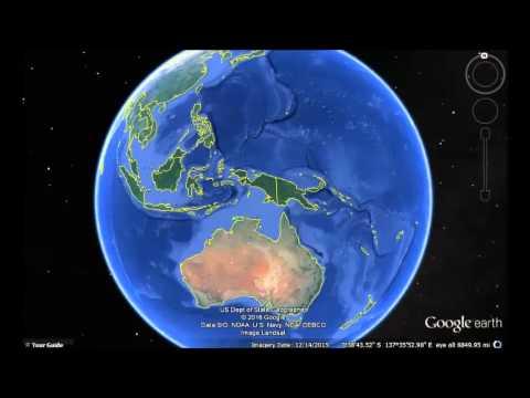 Fiji Google Earth View