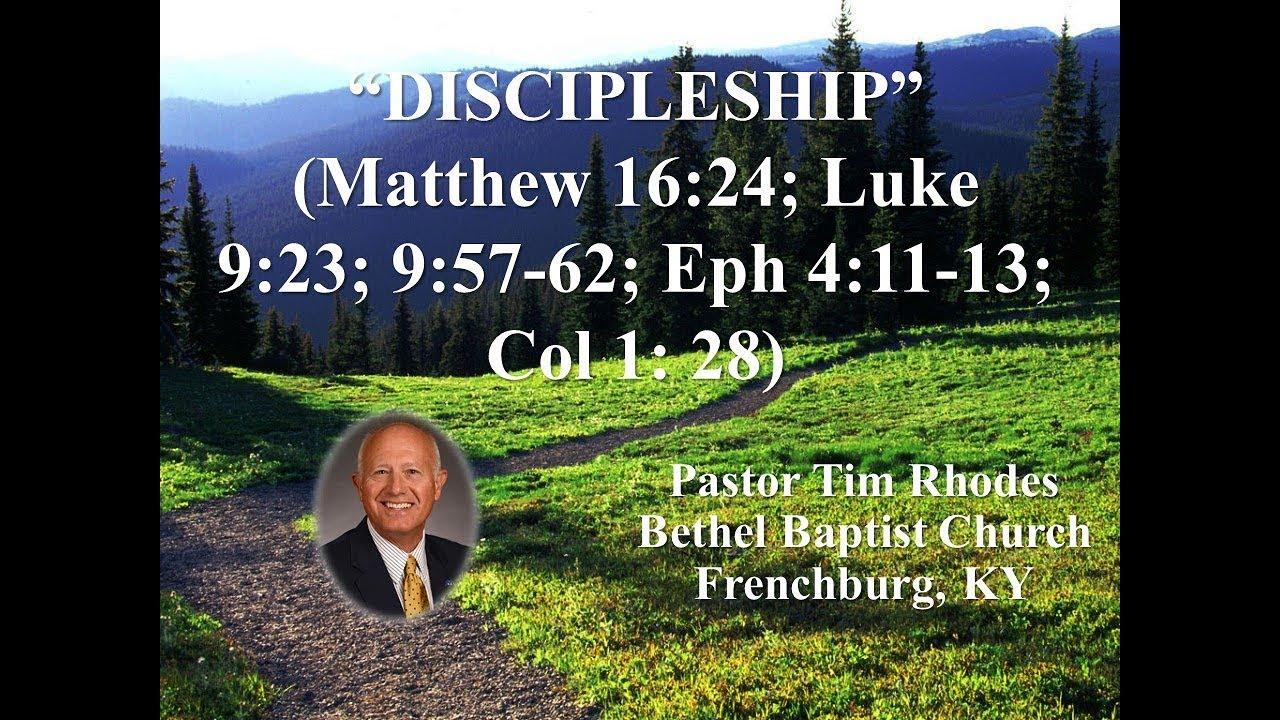 Sermons – Bethel Baptist Church