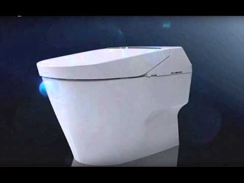 Toto\'s Smart Toilet Lifts The Lid For You And Cleans Itself After ...