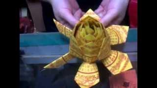 CYS教程】敬神摺紙~小蓮花の二(Origami~Lotus ...