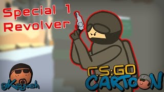 CS:GO Cartoon.  Special 1 Revolver