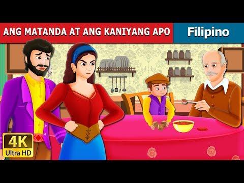 ANG MATANDA AT ANG KANIYANG APO |  The Old Man And His Grandson Story | Filipino Fairy Tales