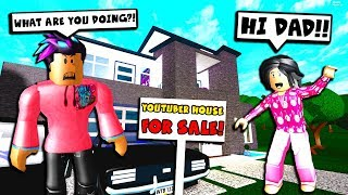 I SPOILED My New Daughter.. She Was SECRETLY Selling My House! (Roblox Bloxburg)