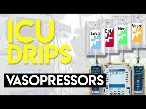 Vasopressors (Part 1) - ICU Drips
