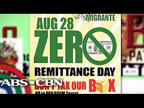 'No Remittance Day' to go as planned