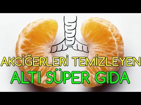 Akciğerleri Temizleyen Altı Süper Gıda
