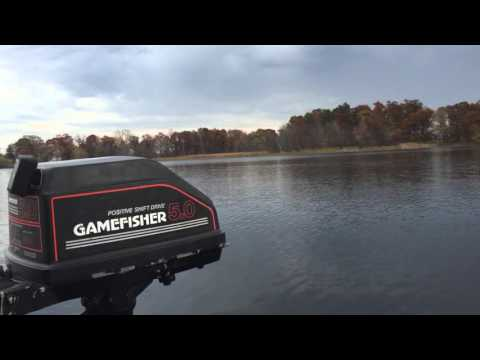 Gamefisher 5hp Outboard Motor
