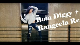 Rangeela Re | Bom Diggy | Bollyhop | Anagha Sreenivas