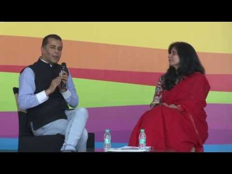 #BlrLitFest - 14 | Chetan Bhagat | From full - wives to Half-Girlfriend