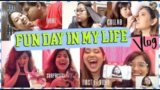 VLOG: Collab Day In My Life | Surprises, Gifts & Reacting To MY FIRST Video |ThatQuirkyMiss