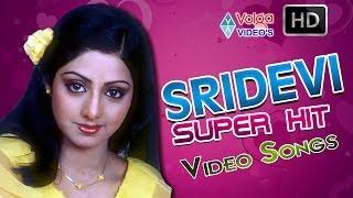 Sridevi Super Hit Songs | Juke Box | Full HD