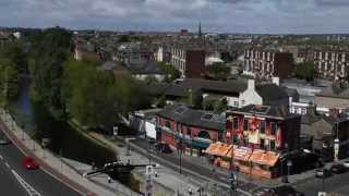 Lucozade Energy Take Over The Barge Pub In Dublin (time Lapse)