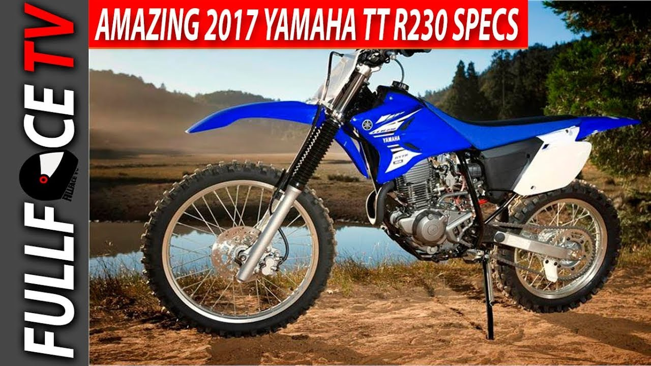 2017 Yamaha TT R230 Top Speed Price and Review - YouTube