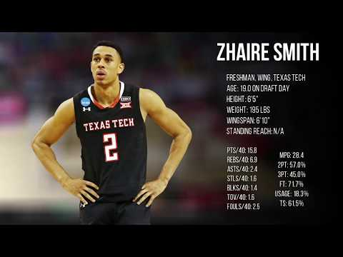2018 NBA Draft Guide: Zhaire Smith