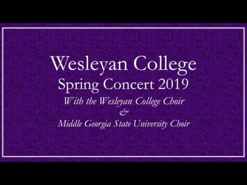Wesleyan College Spring Concert 2019