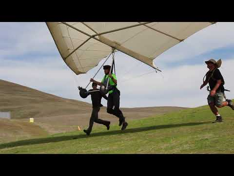 First hang gliding lesson