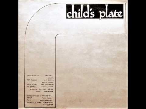 Dan Sorrell - Child's plate (1974)