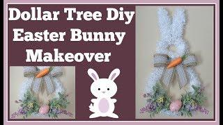 Dollar Tree Diy 🌷 Easter Bunny Makeover
