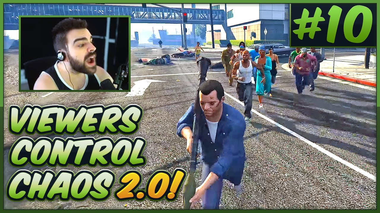 Download Viewers Control GTA V Chaos 2.0! #10 - S03E10