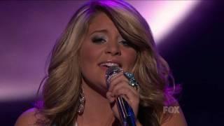 "Video true HD Lauren Alaina ""Unchained Melody"" Top 5 American Idol 2011 (May 4) download MP3, 3GP, MP4, WEBM, AVI, FLV Juli 2018"