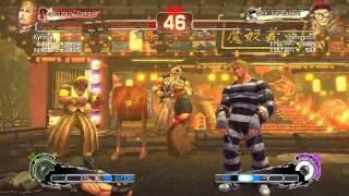 Ultra Street Fighter IV battle: Cody vs Rolento